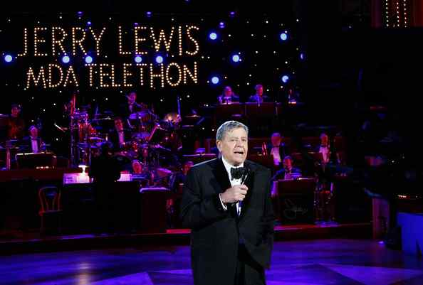 LADIES AND GENTLEMEN, MR TELETHON: JERRY LEWIS